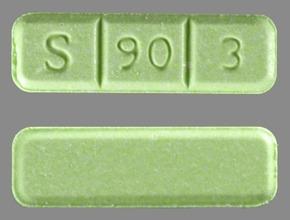 Green Xanax S 90 3